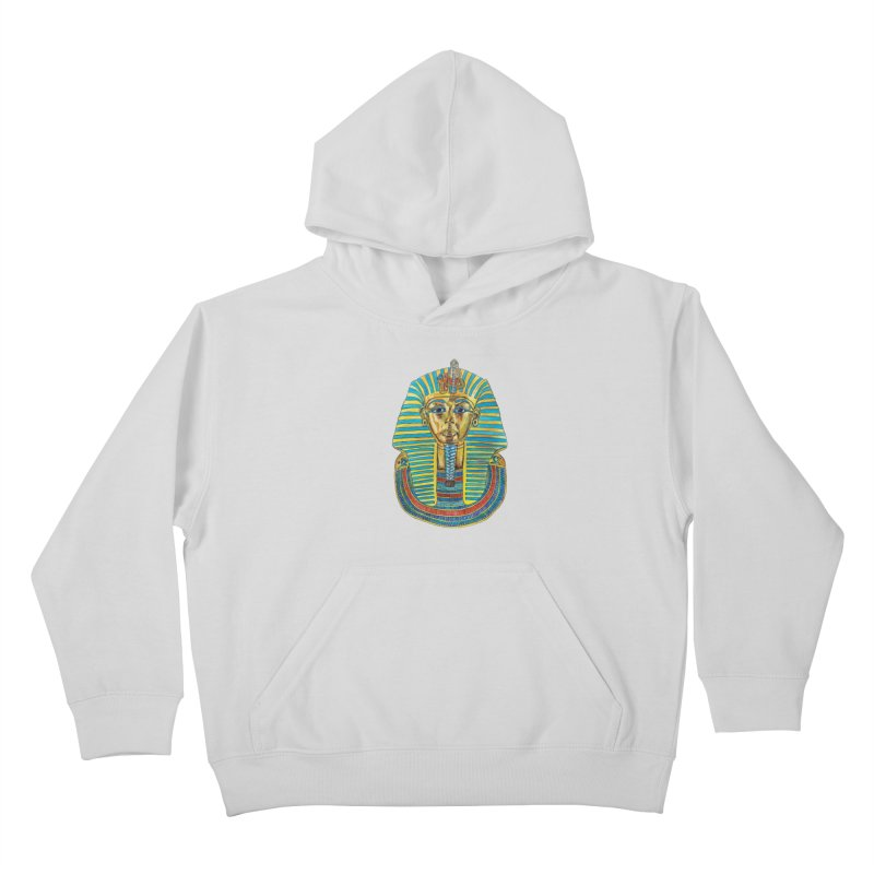Tut Kids Pullover Hoody by Brick Alley Studio's Artist Shop