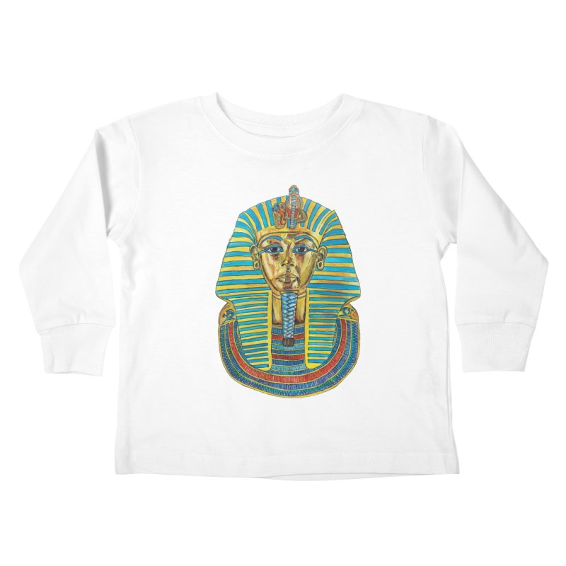Tut Kids Toddler Longsleeve T-Shirt by Brick Alley Studio's Artist Shop