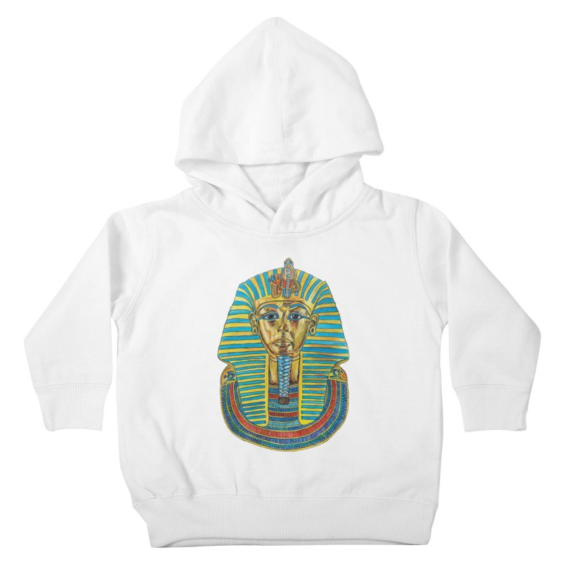 Tut Kids Toddler Pullover Hoody by Brick Alley Studio's Artist Shop