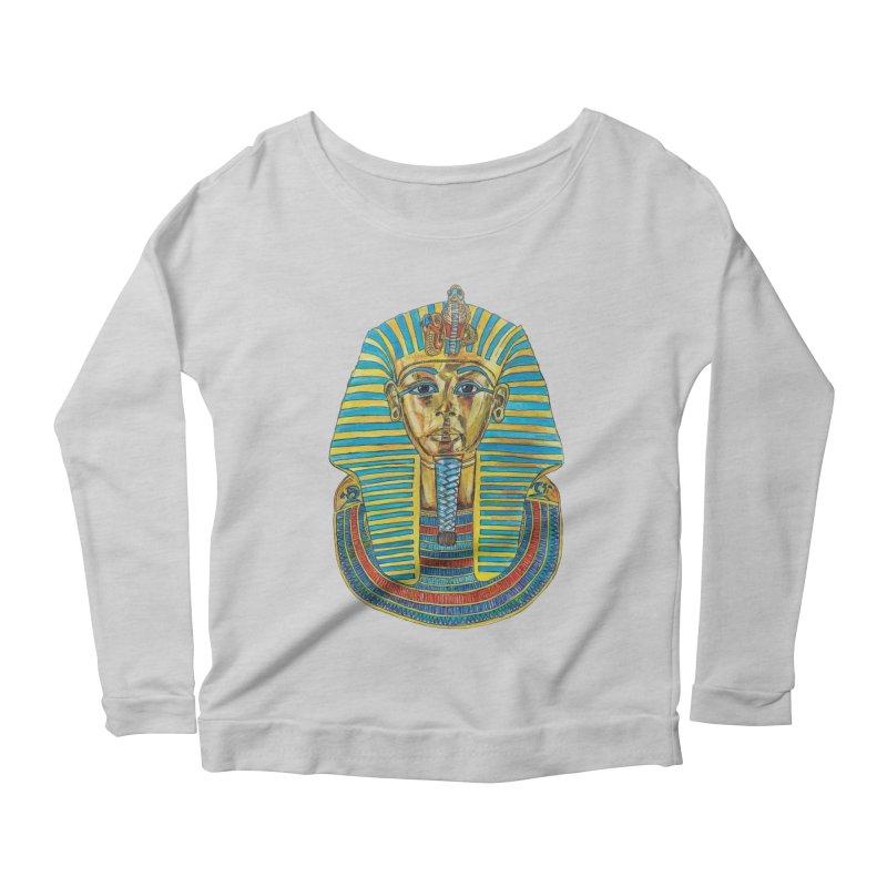 Tut Women's Scoop Neck Longsleeve T-Shirt by Brick Alley Studio's Artist Shop