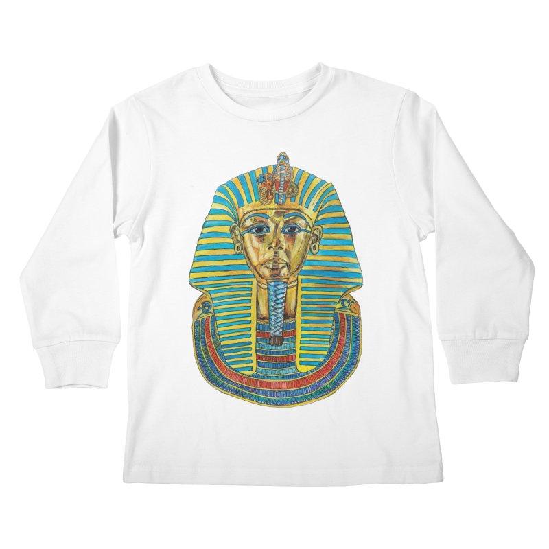 Tut Kids Longsleeve T-Shirt by Brick Alley Studio's Artist Shop