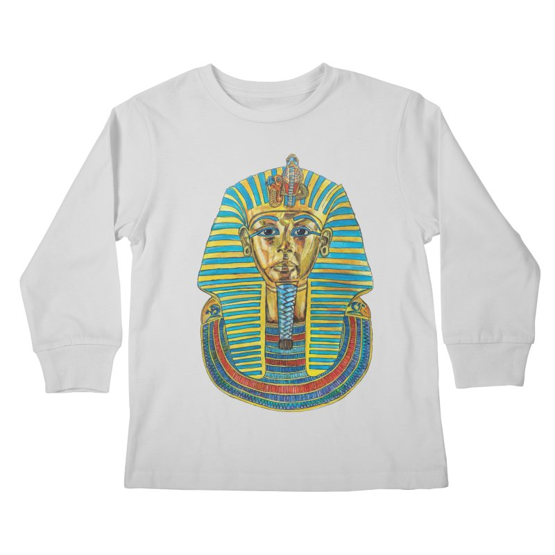 Tut Kids Longsleeve T-Shirt by Brick Alley Studio's Artist Shop