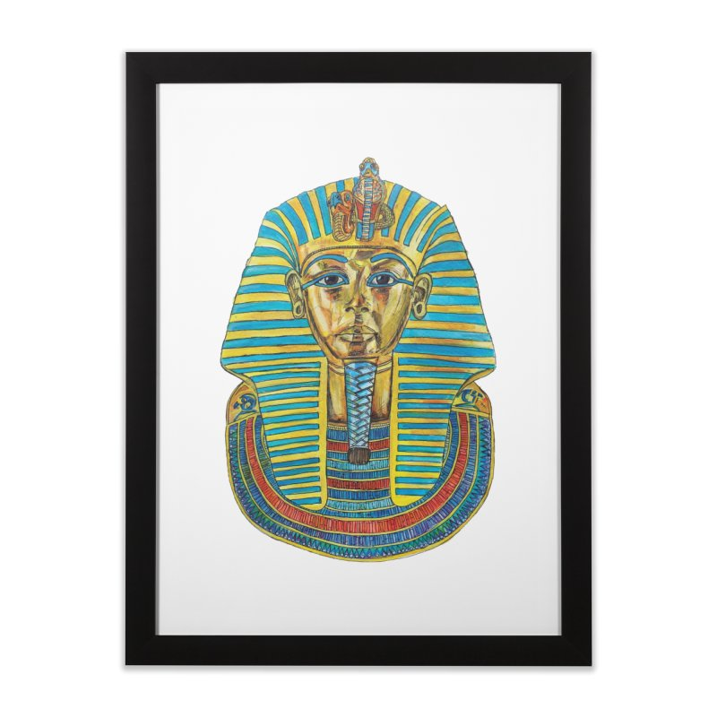 Tut Home Framed Fine Art Print by Brick Alley Studio's Artist Shop