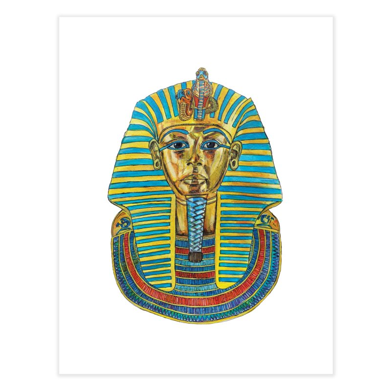 Tut Home Fine Art Print by Brick Alley Studio's Artist Shop
