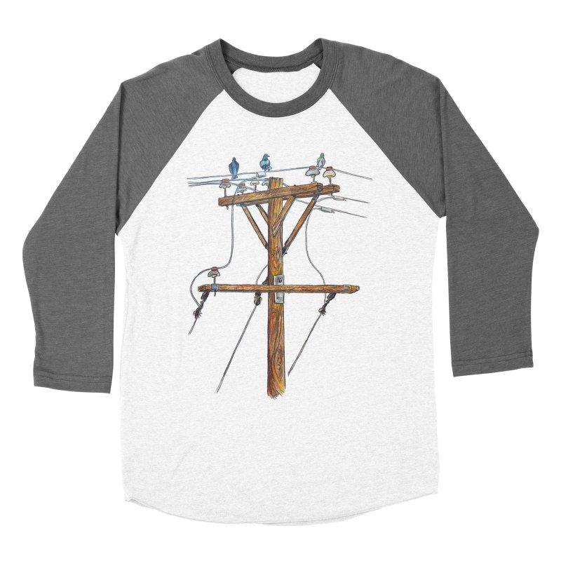 3 Little Birds Women's Longsleeve T-Shirt by Brick Alley Studio's Artist Shop