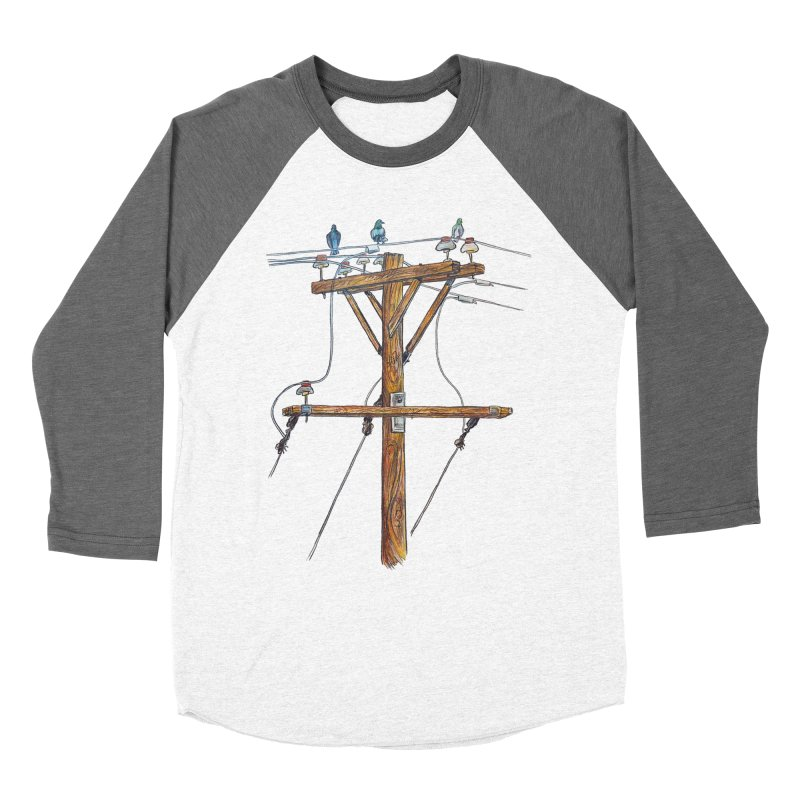 3 Little Birds Men's Longsleeve T-Shirt by Brick Alley Studio's Artist Shop