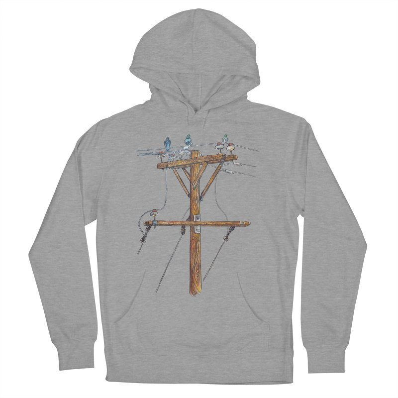 3 Little Birds Men's Pullover Hoody by Brick Alley Studio's Artist Shop