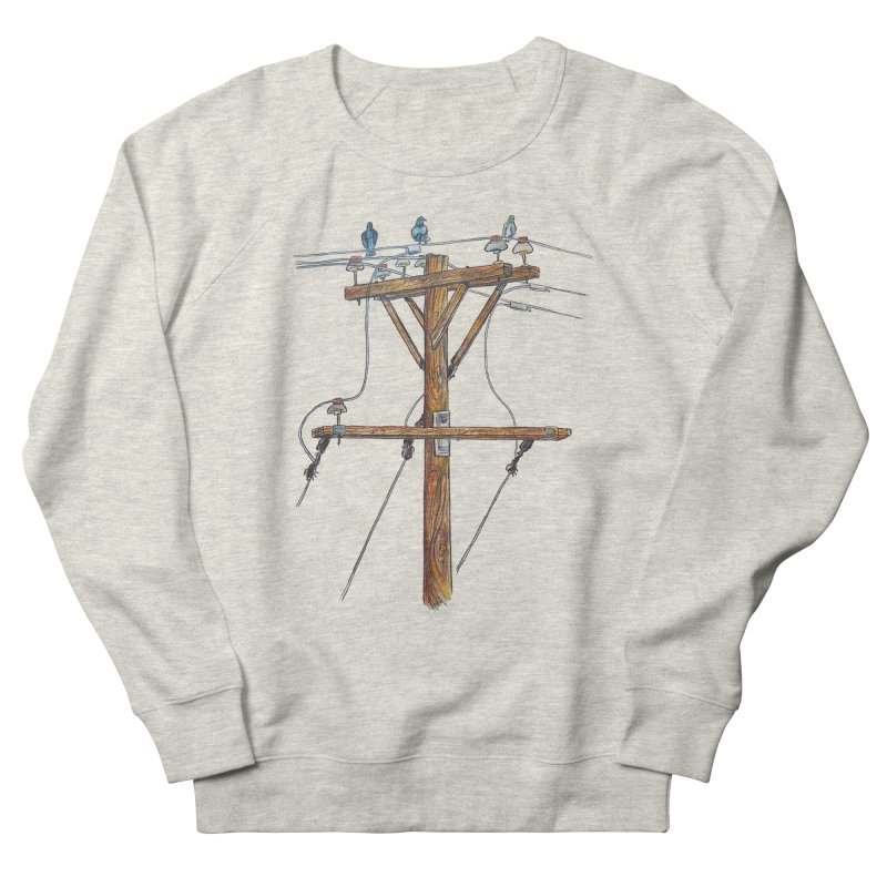 3 Little Birds Men's Sweatshirt by Brick Alley Studio's Artist Shop
