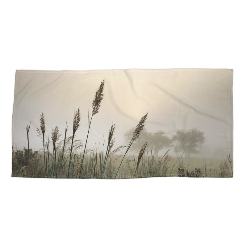 Grasslands in the Morning (photo) Accessories Beach Towel by Brick Alley Studio's Artist Shop