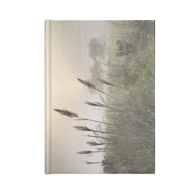 Grasslands in the Morning (photo) Accessories Lined Journal Notebook by Brick Alley Studio's Artist Shop