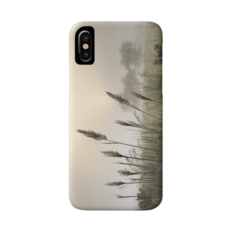 Grasslands in the Morning (photo) Accessories Phone Case by Brick Alley Studio's Artist Shop