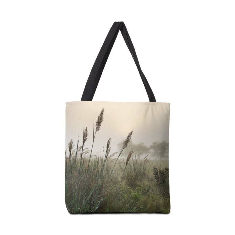 Grasslands in the Morning (photo) Accessories Bag by Brick Alley Studio's Artist Shop