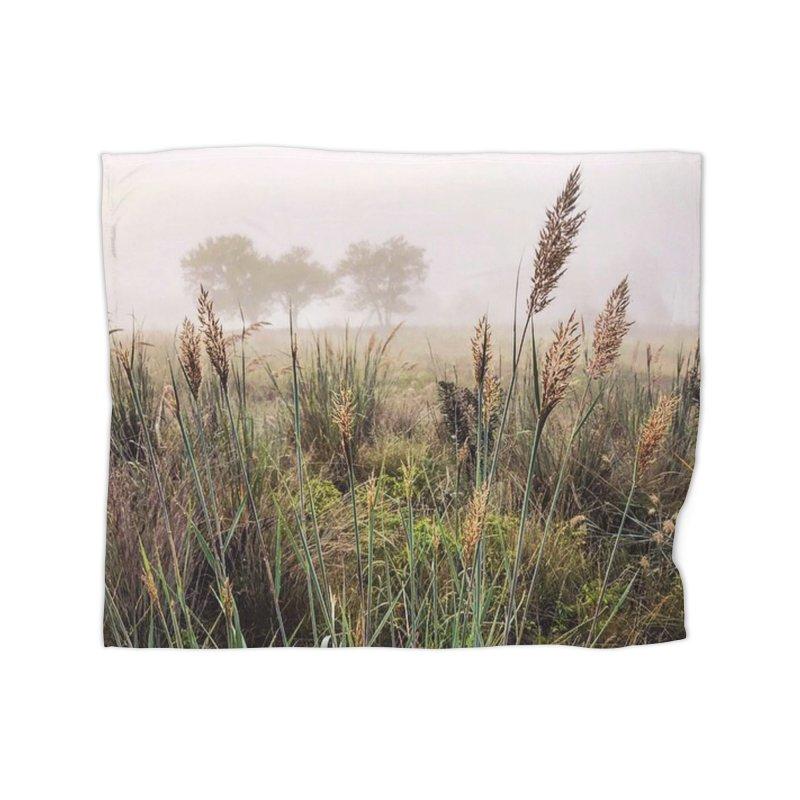 Haze on the Grass (photo) Home Blanket by Brick Alley Studio's Artist Shop