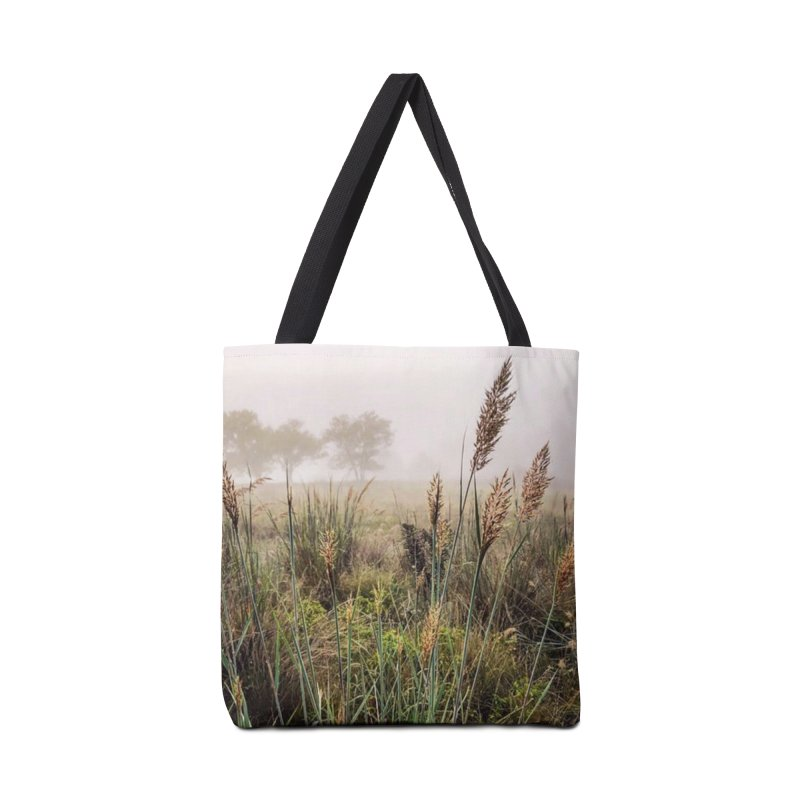 Haze on the Grass (photo) Accessories Bag by Brick Alley Studio's Artist Shop
