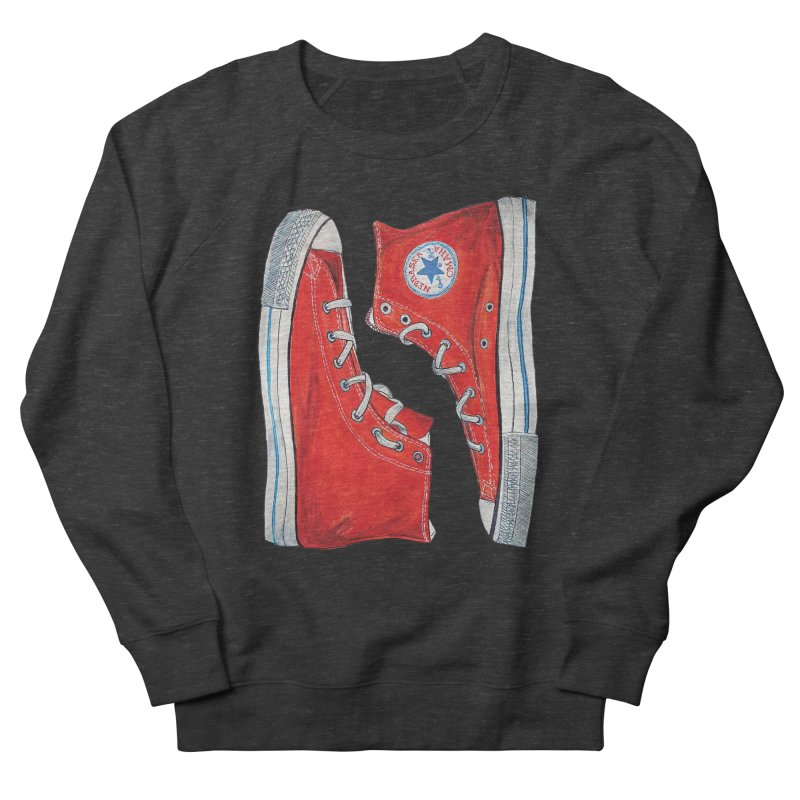 Omaha Nebraska Chucks Women's Sweatshirt by Brick Alley Studio's Artist Shop