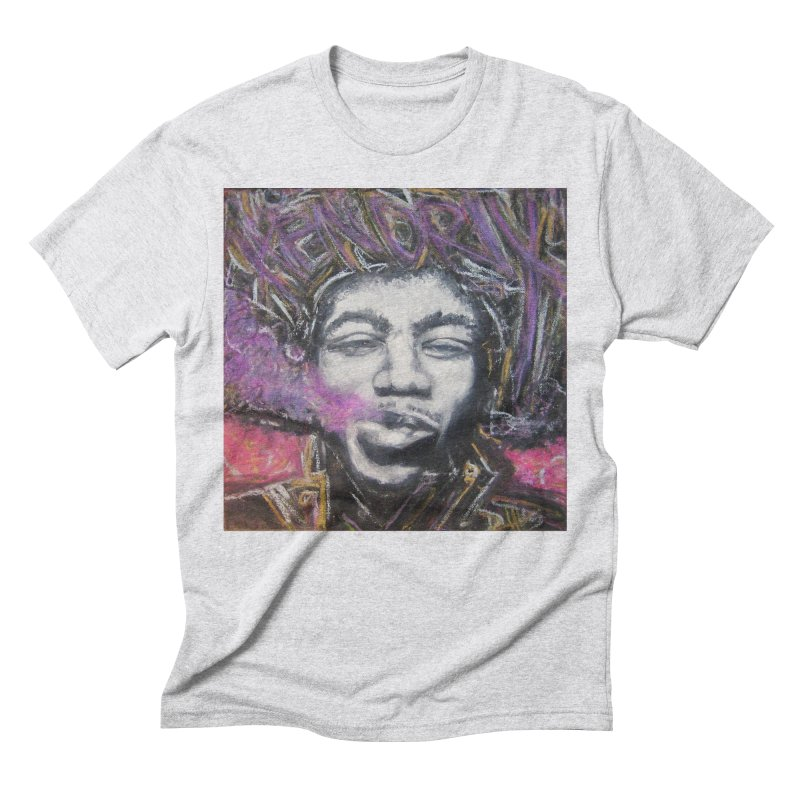 Purple Haze Men's Triblend T-Shirt by Brick Alley Studio's Artist Shop