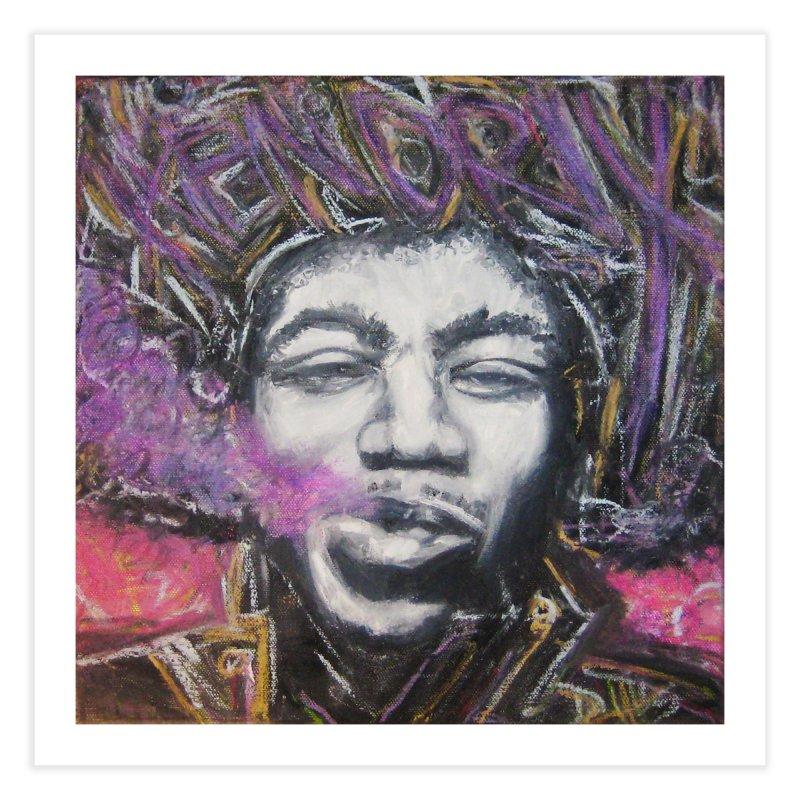 Purple Haze Home Fine Art Print by Brick Alley Studio's Artist Shop