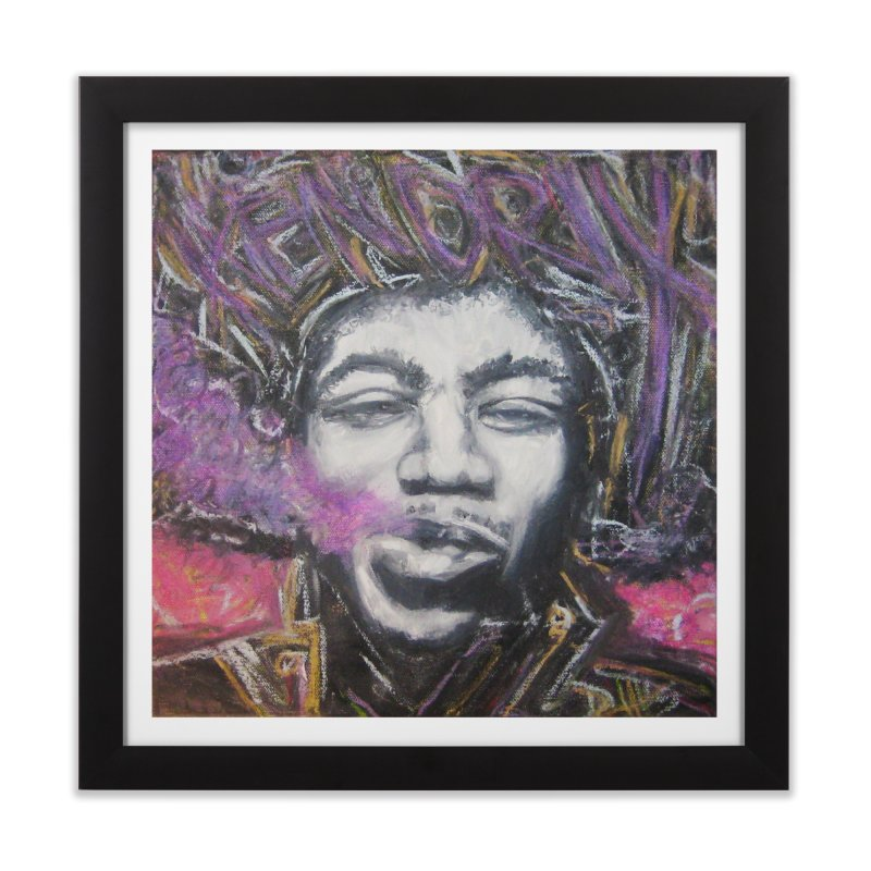Purple Haze Home Framed Fine Art Print by Brick Alley Studio's Artist Shop