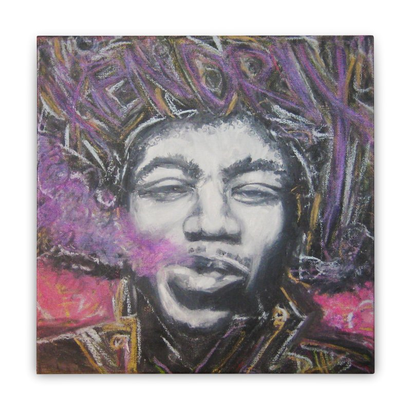 Purple Haze Home Stretched Canvas by Brick Alley Studio's Artist Shop