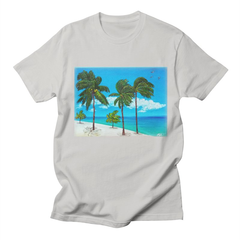 Varadero Beach Men's T-Shirt by Brick Alley Studio's Artist Shop