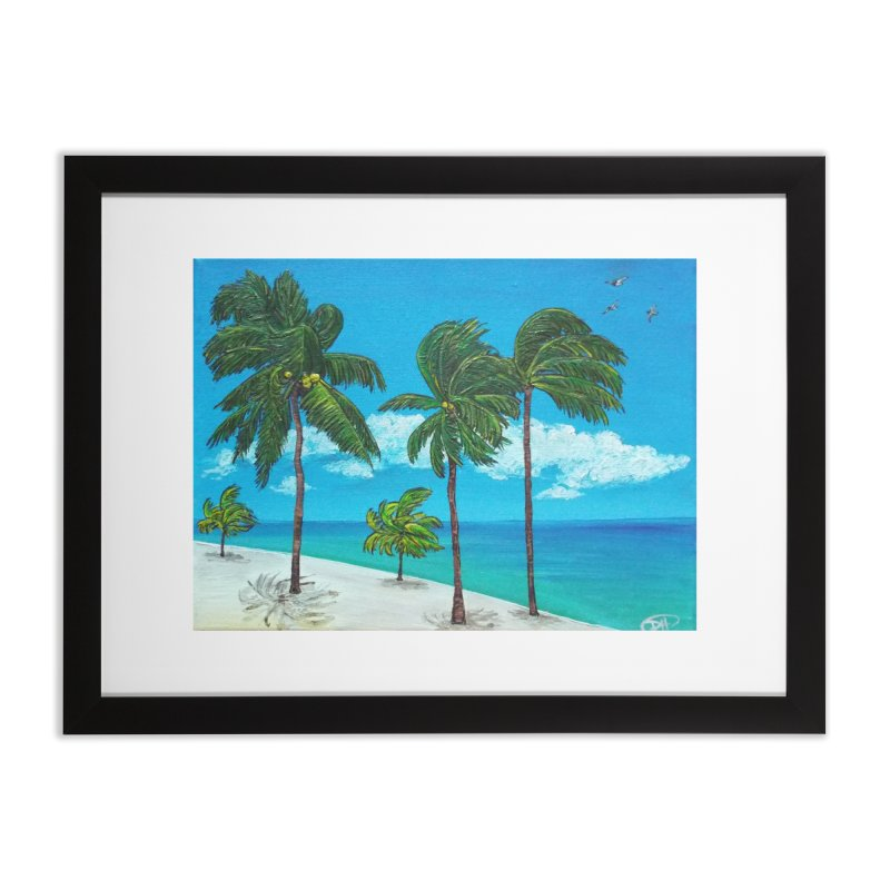 Varadero Beach Home Framed Fine Art Print by Brick Alley Studio's Artist Shop