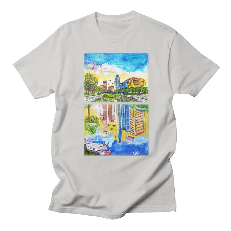 Downtown Reflecting Omaha   by Brick Alley Studio's Artist Shop
