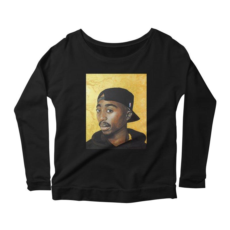 Life Goes On Women's Scoop Neck Longsleeve T-Shirt by Brick Alley Studio's Artist Shop