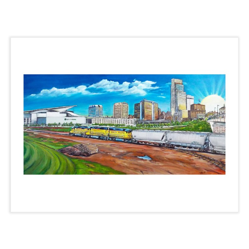 Riverfront Drive Home Fine Art Print by Brick Alley Studio's Artist Shop