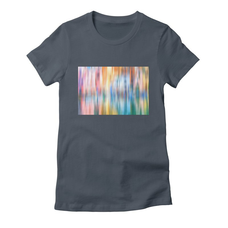 Rainbow Reflections Women's T-Shirt by BrocoliArtprint