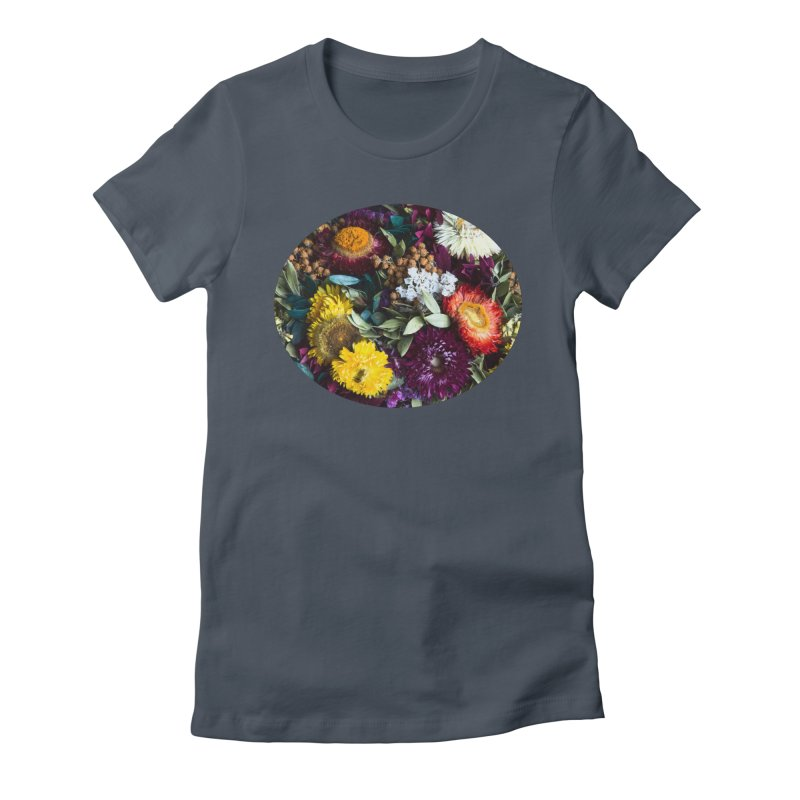 Colorful Flowers Women's T-Shirt by BrocoliArtprint