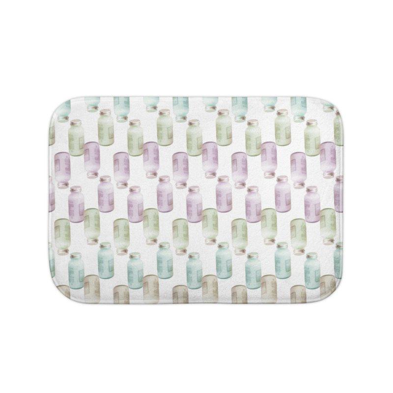 Drink Me Home Bath Mat by BrocoliArtprint