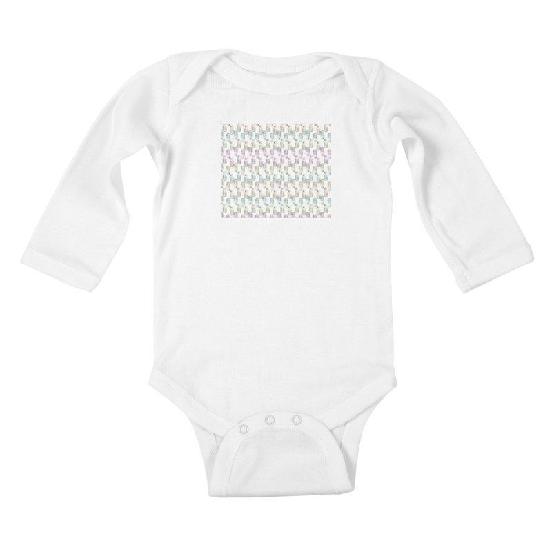 Drink Me Kids Baby Longsleeve Bodysuit by BrocoliArtprint