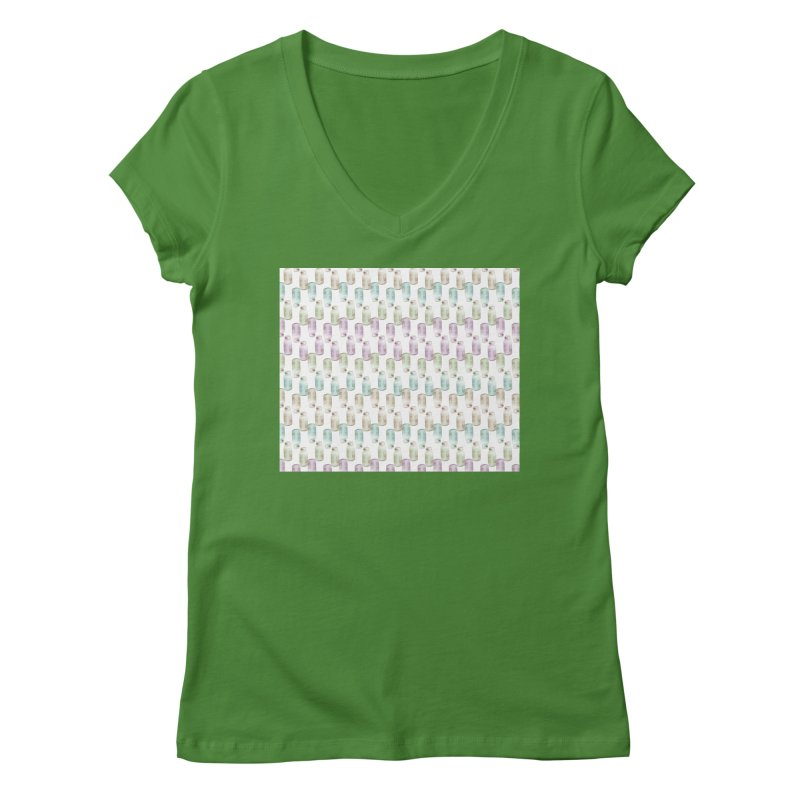 Drink Me Women's V-Neck by BrocoliArtprint