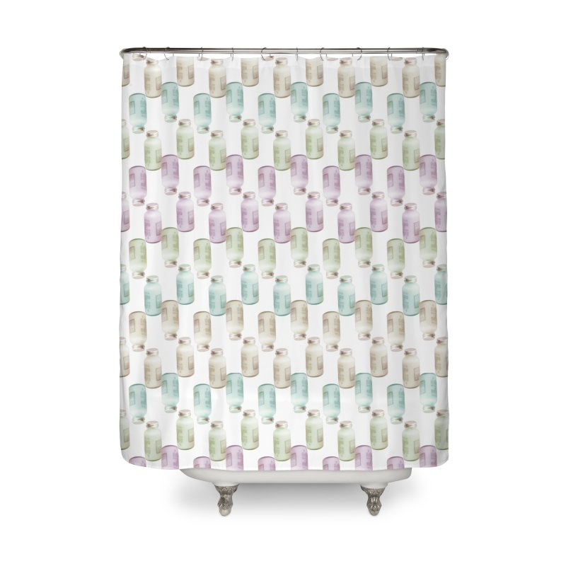 Drink Me Home Shower Curtain by BrocoliArtprint