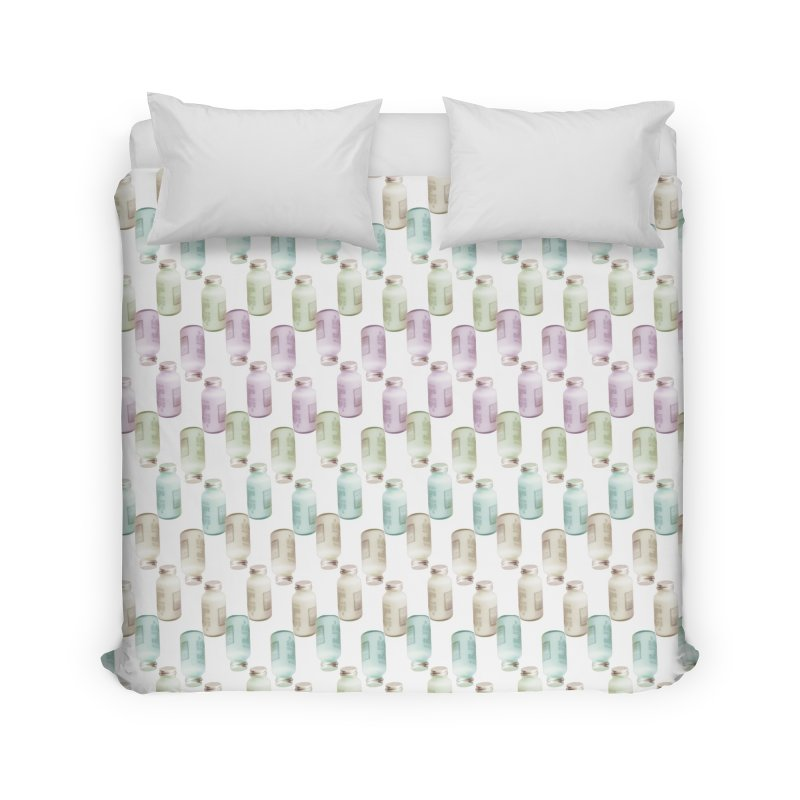 Drink Me Home Duvet by BrocoliArtprint