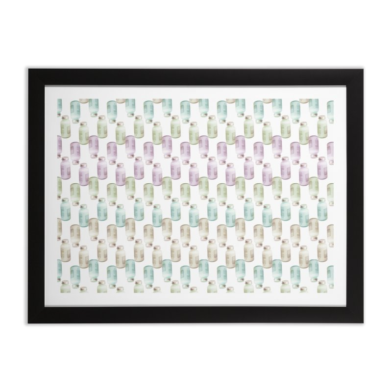 Drink Me Home Framed Fine Art Print by BrocoliArtprint