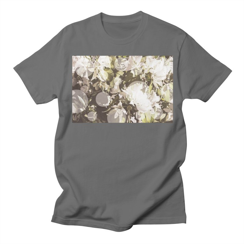 Flowers and Dots Men's T-Shirt by BrocoliArtprint