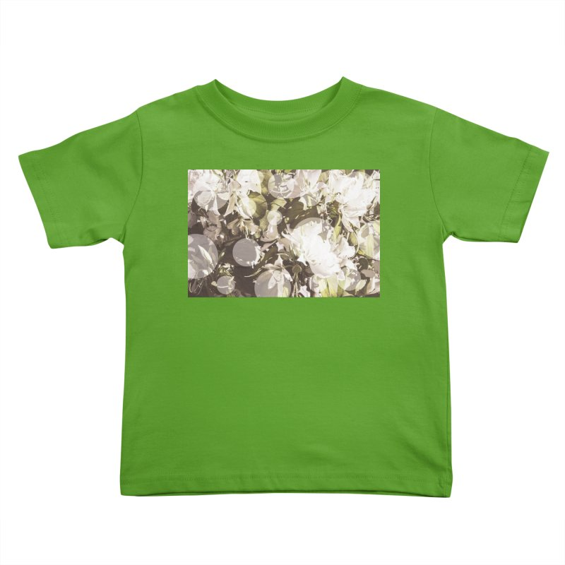 Flowers and Dots Kids Toddler T-Shirt by BrocoliArtprint