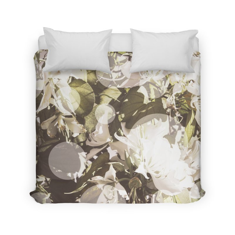 Flowers and Dots Home Duvet by BrocoliArtprint
