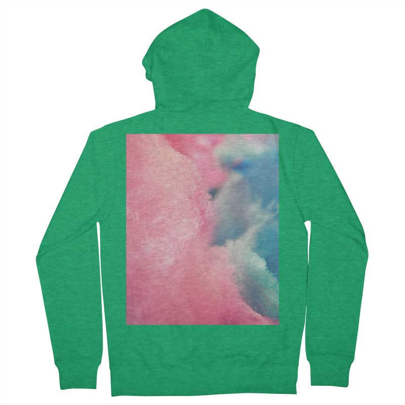 CottonCandy Men's Zip-Up Hoody by BrocoliArtprint