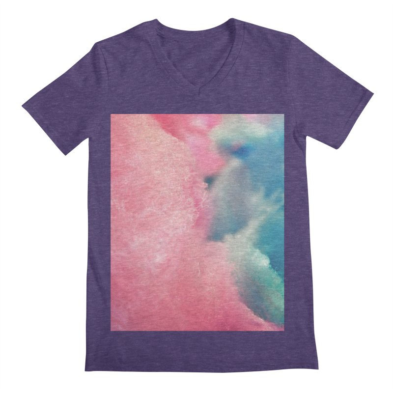 CottonCandy Men's V-Neck by BrocoliArtprint