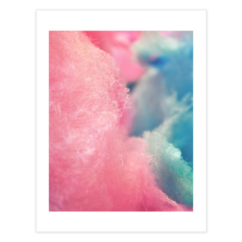 CottonCandy Home Fine Art Print by BrocoliArtprint