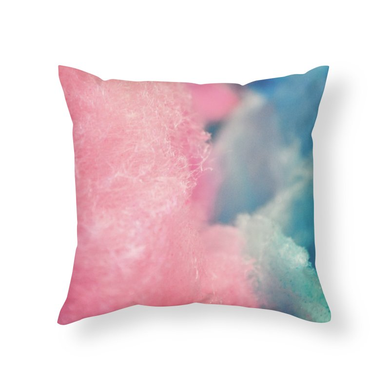 CottonCandy Home Throw Pillow by BrocoliArtprint