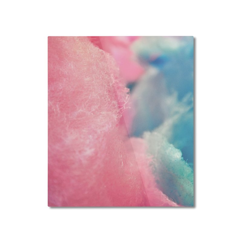CottonCandy Home Mounted Aluminum Print by BrocoliArtprint