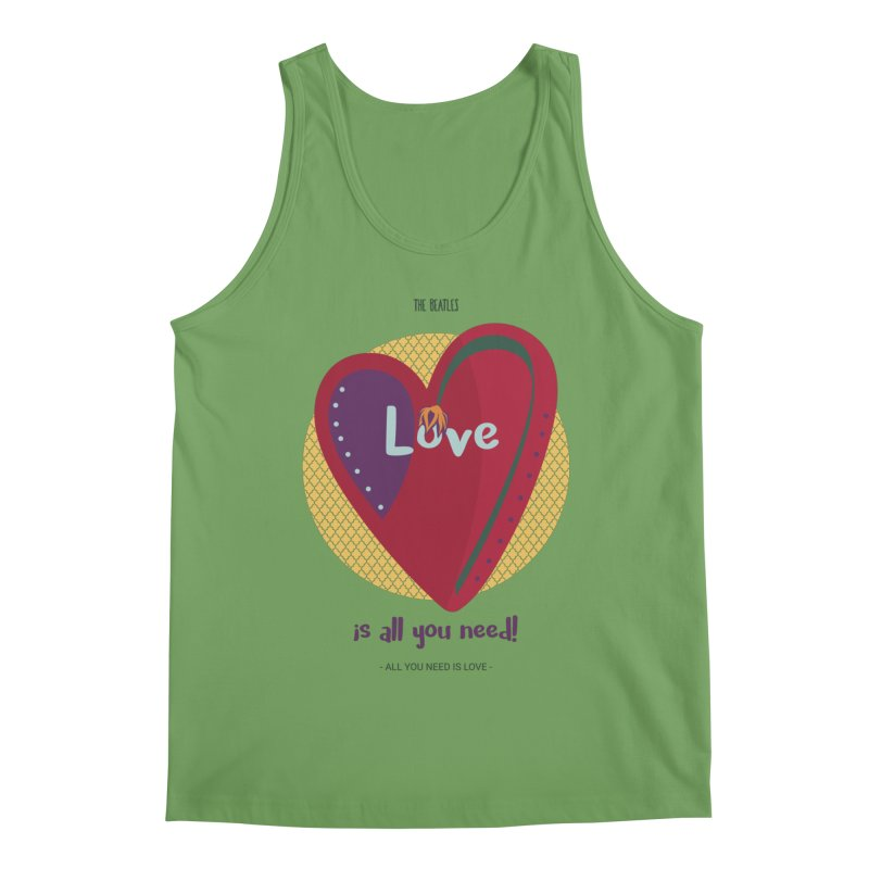 All you need is love Men's Tank by BrocoliArtprint