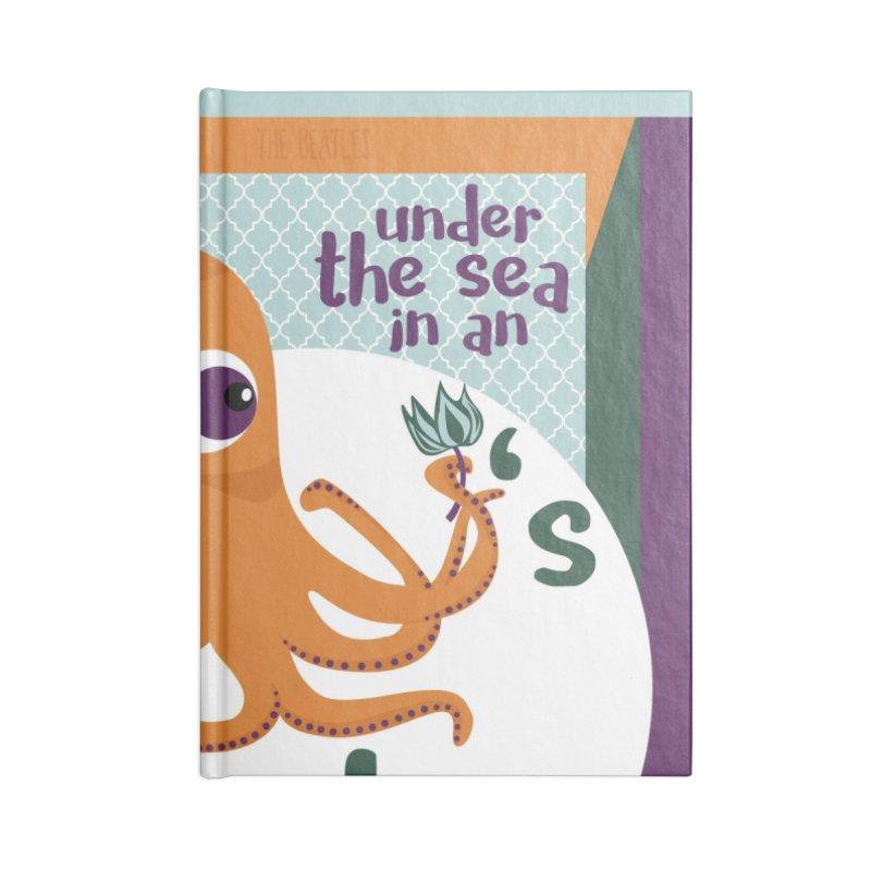 Octopus Garden Accessories Notebook by BrocoliArtprint