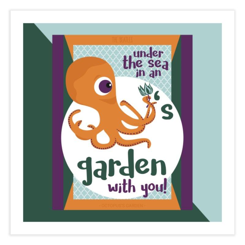 Octopus Garden Home Fine Art Print by BrocoliArtprint