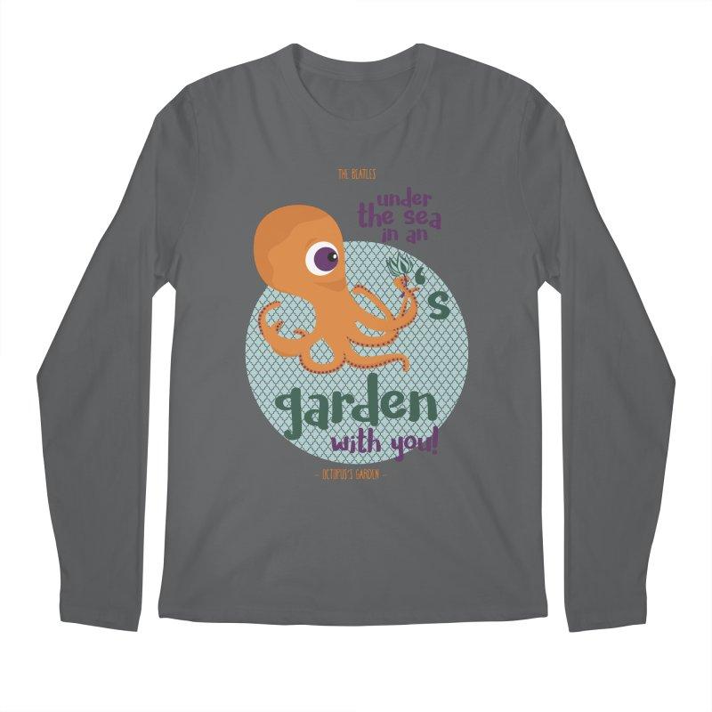 Octopus Garden Men's Longsleeve T-Shirt by BrocoliArtprint
