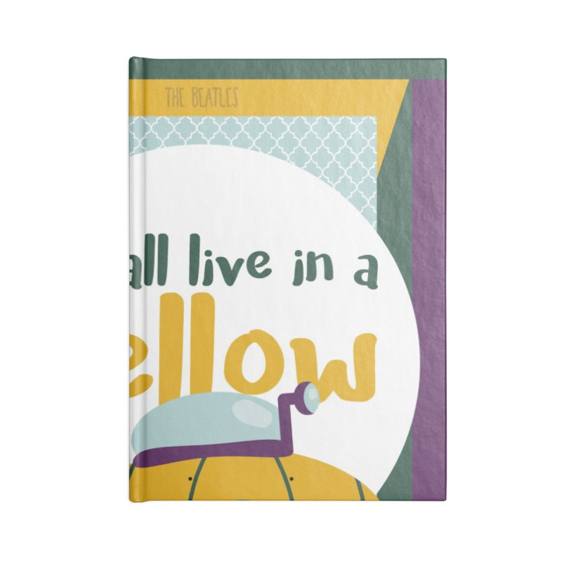 Yellow Submarine Accessories Notebook by BrocoliArtprint