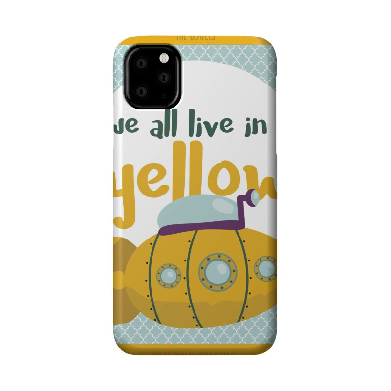 Yellow Submarine Accessories Phone Case by BrocoliArtprint